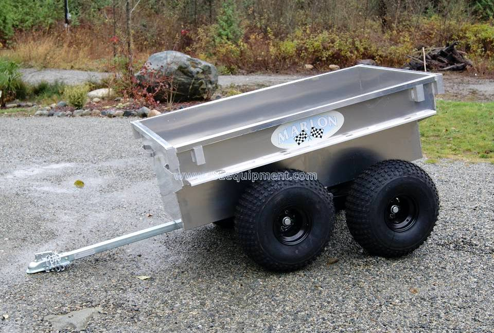Maple Ridge Dump >> ATV and Motorcycle Trailers - JSE EQUIPMENT | Utility Trailers | Boat Trailers | Landscape ...